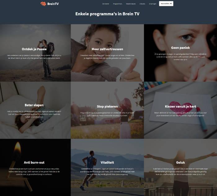 BreinTV Programmas voor persoonlijke groei