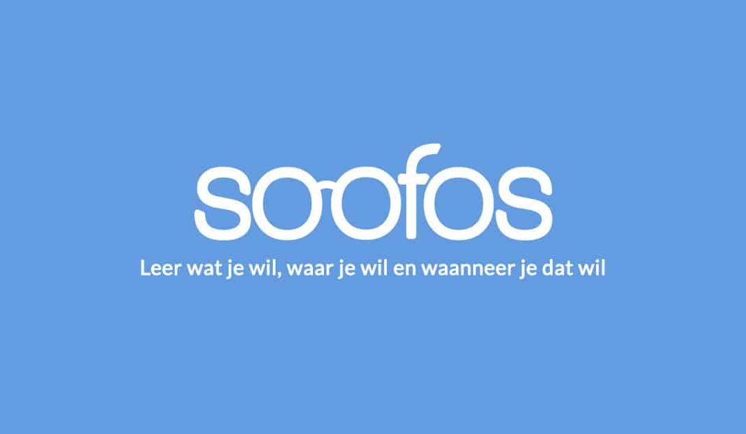 Logo Soofos. Online Leren