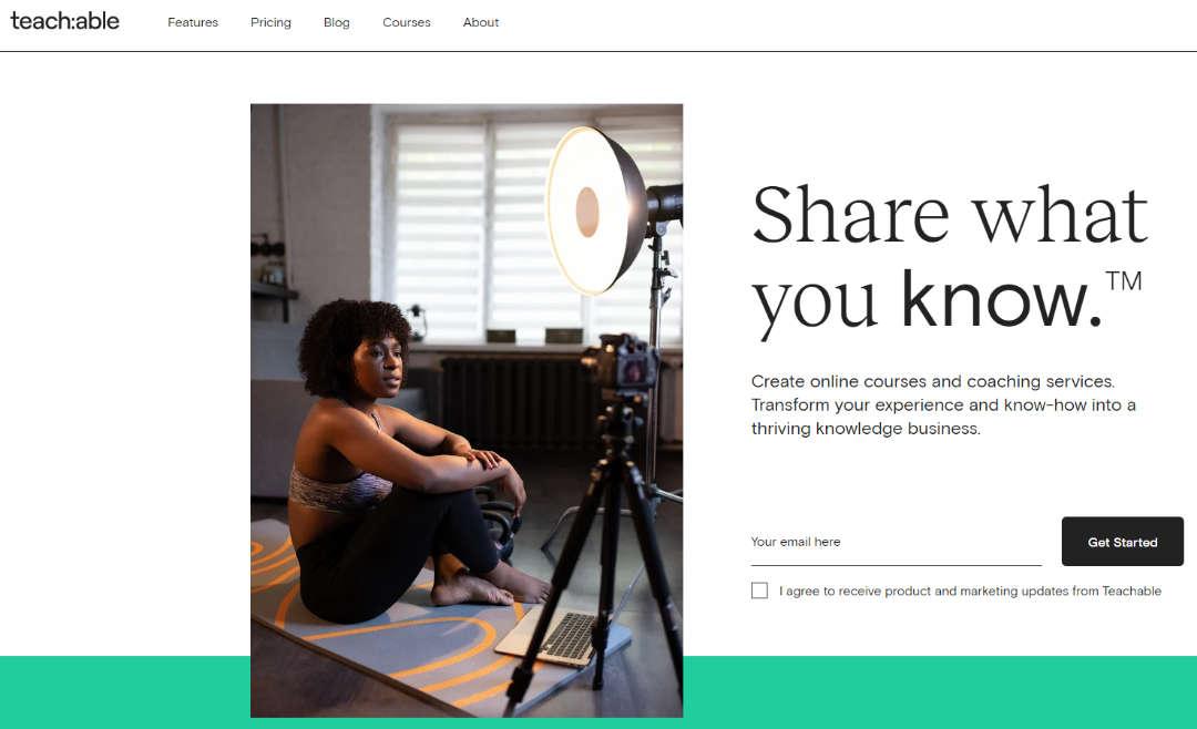 Maak en verkoop je eigen Online Training met Teachable