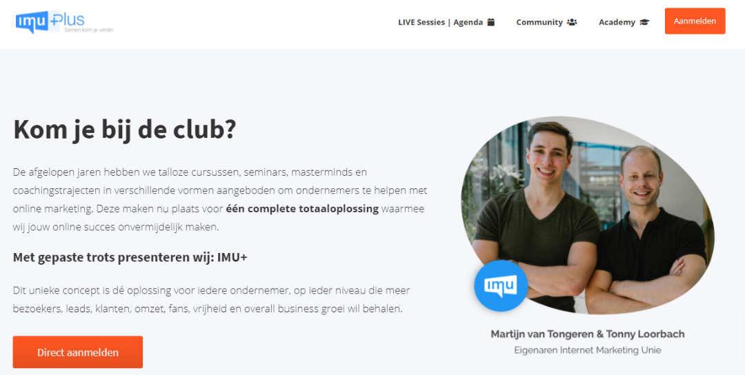 Online Marketing IMU +