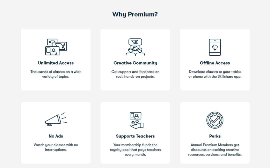 Premium Lidmaatschap Skillshare