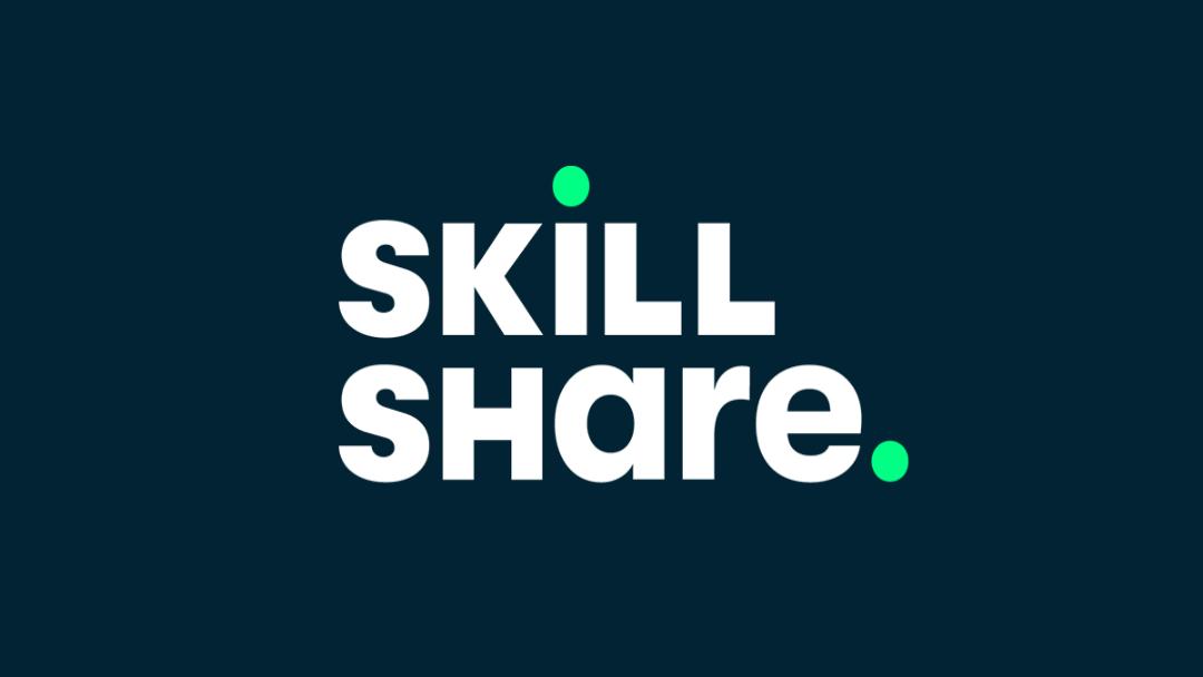 Skillshare Logo. Leer nieuwe vaardigheden met Skillshare