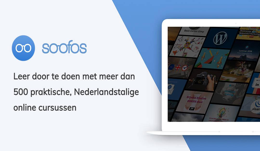 Soofos Online Leren met meer dan 500 praktische Nederlandstalige Online Cursussen