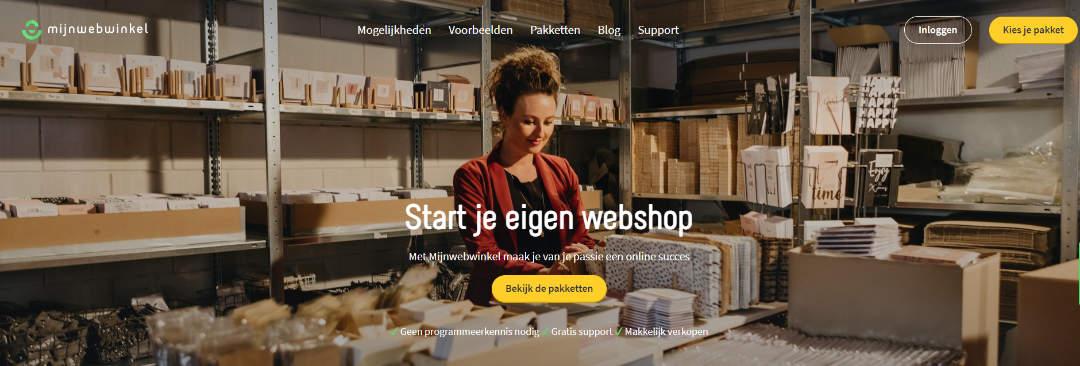 Start je eigen webshop met mijnwebwinkel.nl