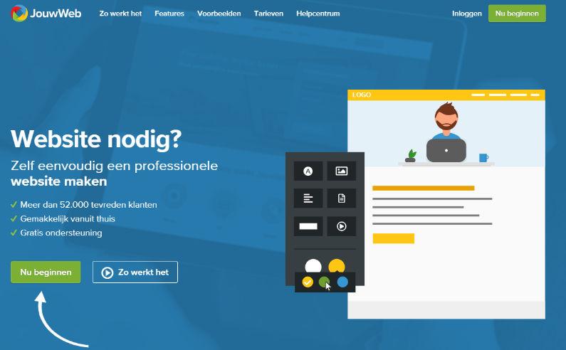 jouwweb.nl zelf een eigen website maken