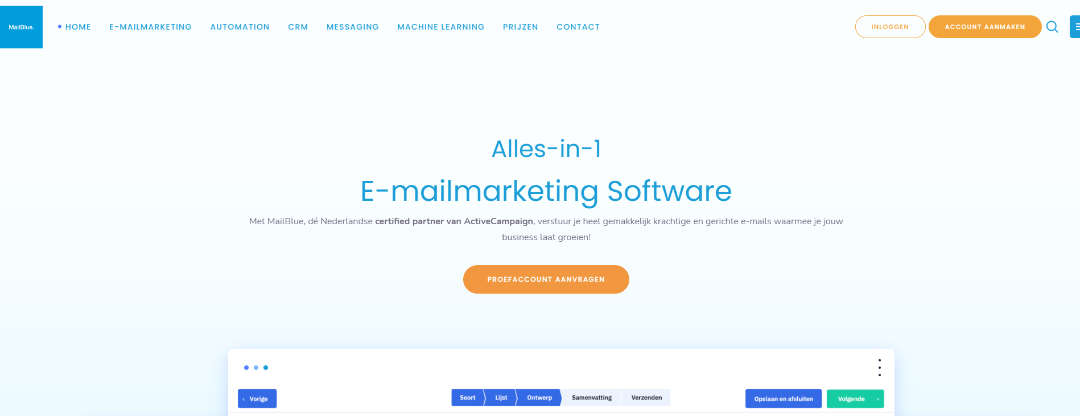 mailblue alles in 1 email marketing software