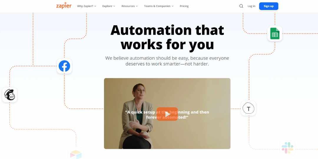 Automatiseer al je werkzaamheden met Zapier en koppel de belangrijkste programmas