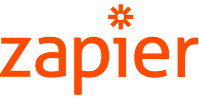 Logo Zapier Automatiseer je werk