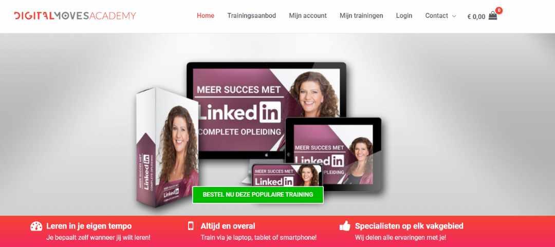 Online Linkedin training Digital Moves Academy