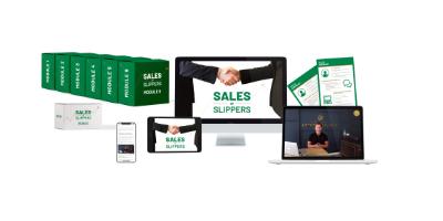 Online Training Sales op Slippers van Lifestyle of Business2