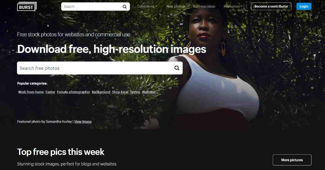 Burst Gratis hoge resolutie fotos voor commercieel gebruik