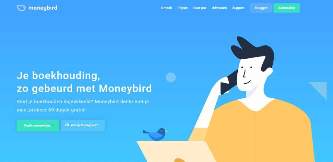 Het boekhoudprogramma voor de ondernemer Moneybird