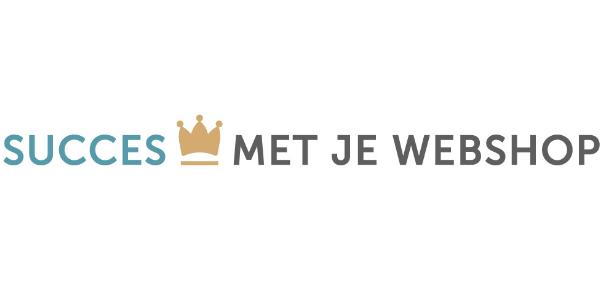 Logo Succes met je webshop. De nummer 1 webshop community van Nederland