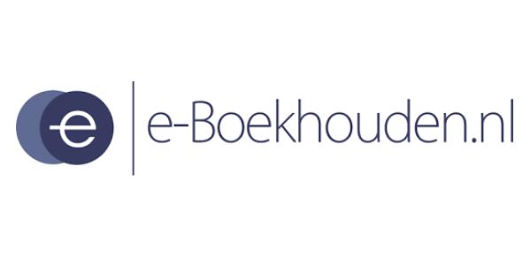 Logo e-boekhouden.nl eenvoudig online boekhouden en factureren