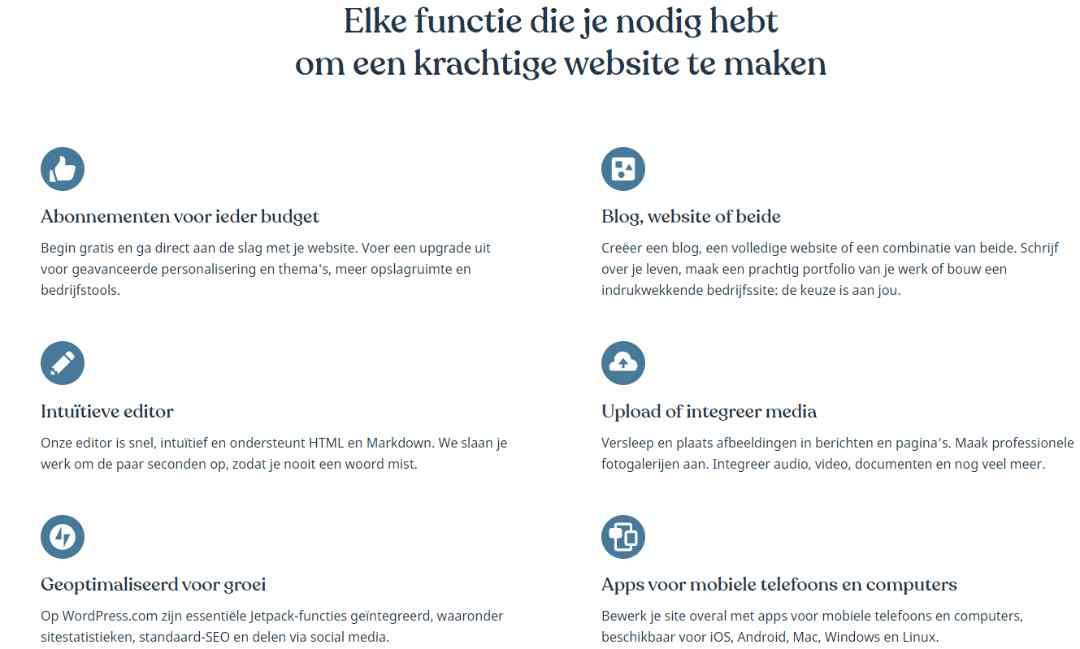 Maak een website met WordPress