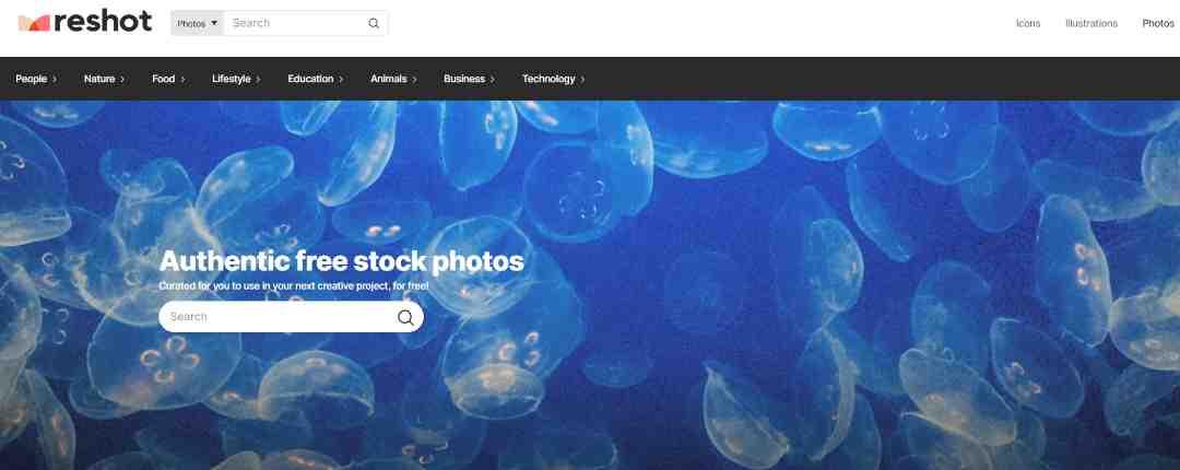 Reshot authentieke stock afbeeldingen voor commercieel gebruik