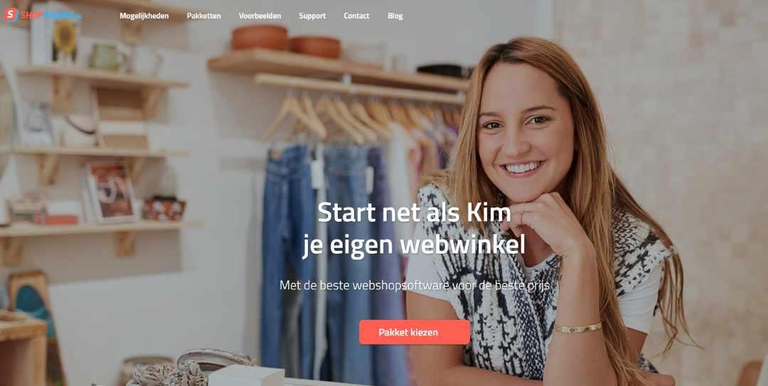 Shoppagina jouw eigen webshop starten