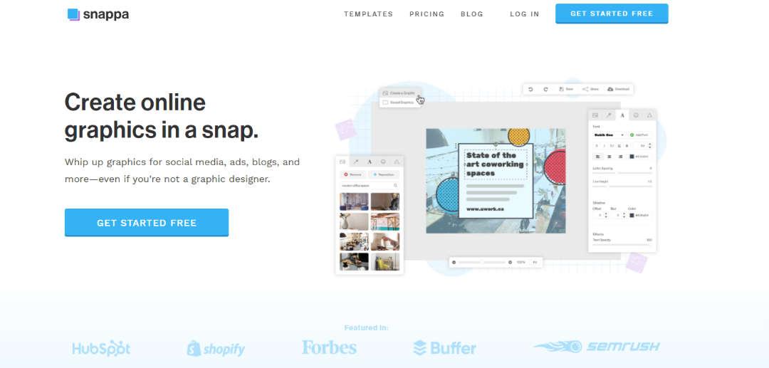 Snappa Design en ontwerp software