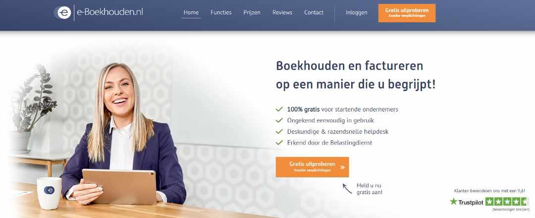 e-boekhouden Eenvoudig online boekhouden en factureren