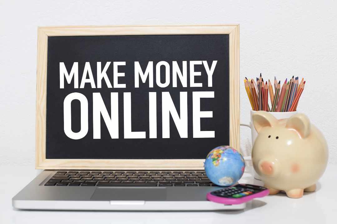 Verdien online geld. Online ondernemen
